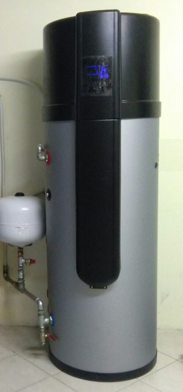 Boiler a termopompa