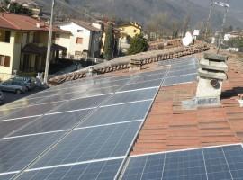 Impianto fotovoltaico 12,42 kWp Sabbio Chiese (BS)