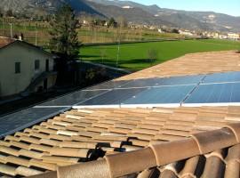 Impianto fotovoltaico 3,76 kW Mazzano (BS)