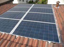 Impianto fotovoltaico 3,84 kWp Bovezzo (BS)