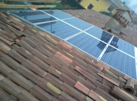 Impianto fotovoltaico 4,23 kWp Mazzano (BS)