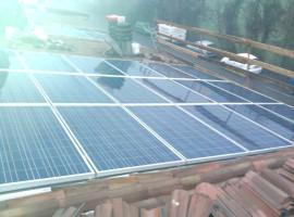 Impianto fotovoltaico 4,23kWp Mazzano (BS)