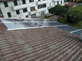 Impianto fotovoltaico 4,60kWp Sabbio Chiese (BS)