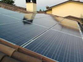 Impianto fotovoltaico 5,98 kWp Castenedolo (BS)