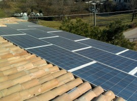 Impianto fotovoltaico 6,345 kWp Provaglio Val Sabbia (BS)