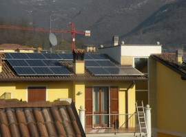Impianto fotovoltico 4,30 kWp Sabbio Chiese (BS)