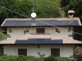 Impianto fotovoltaico 10,00 kWp Casto (BS) innovativo