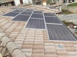 Impianto fotovoltaico 12,00 kWp Casto (BS)