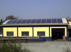 Impianto fotovoltaico 16,17 kWp Calvisano (BS)