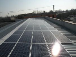 Impianto fotovoltaico 19,60 kWp Bagnolo Mella (BS)