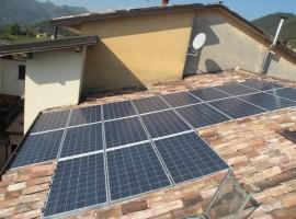 Impianto fotovoltaico 19,92 kWp Preseglie (BS)