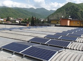 Impianto fotovoltaico 20,00 kWp Sabbio Chiese (BS)