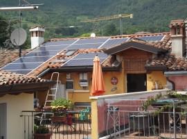 Impianto fotovoltaico 2,88 kWp Botticino (BS)