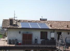 Impianto fotovoltaico 3,00 kWp Calvagese della Riviera (BS)