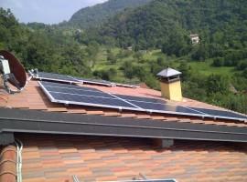 Impianto fotovoltaico 3,00 kWp Provaglio val Sabbia (BS)