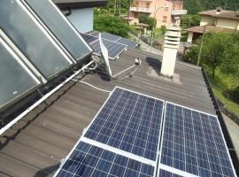 Impianto fotovoltaico 3,00 kWp Sabbio Chiese (BS)