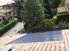 Impianto fotovoltaico 3,20 kWp Mazzano (BS)