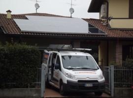 Impianto fotovoltaico 3,42 kwp Calcinato (BS)