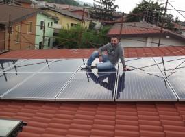 Impianto fotovoltaico 3,50 kWp Bovezzo (BS) ultima generazione