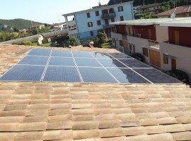 Impianto fotovoltaico 3,75 kWp Vobarno (BS) Vision