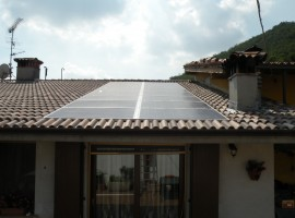 Impianto fotovoltaico 3,84 kWp Gavardo (BS)