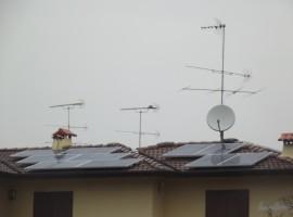 Impianto fotovoltaico 3,92 kWp Calcinato (BS) ultima generazione