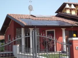 Impianto fotovoltaico 4,00 kWp Bedizziole (BS) innovativo