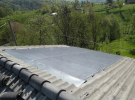 Impianto fotovoltaico 4,00 kWp Bione (BS) innovativo