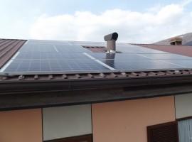 Impianto fotovoltaico 4,00 kWp Brescia San Polo (BS)