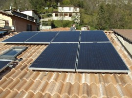 Impianto fotovoltaico 4,00 kWp Casto (BS) Vision