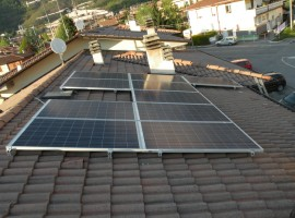 Impianto fotovoltaico 4,00 kWp Concesio (BS)