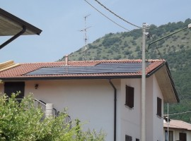 Impianto fotovoltaico 4,00 kWp Concesio (BS) innovativo