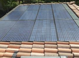 Impianto fotovoltaico 4,00 kWp Corte Franca (BS) Caratt. Innovative