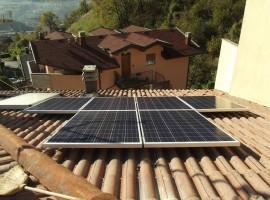 Impianto fotovoltaico 4,00 kWp Lumezzane (BS)