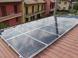 Impianto fotovoltaico 4,00 kWp Lumezzane (BS) ultima generazione