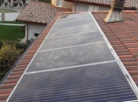 Impianto fotovoltaico 4,00 kWp Prevalle (BS)