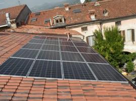 Impianto fotovoltaico 4,00 kWp Prevalle (BS) ultima generazione