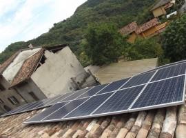 Impianto fotovoltaico 4,00 kWp Provaglio val Sabbia (BS)