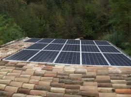 Impianto fotovoltaico 4,00 kWp Provaglio val Sabbia (BS) ultima generazione