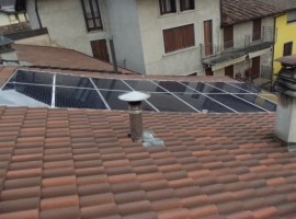 Impianto fotovoltaico 4,,00 kWp Sabbio Chiese Vision