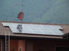 Impianto fotovoltaico 4,00 kWp Villanuova sul Clisi (BS)