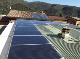 Impianto fotovoltaico 4,00 kWp Vobarno (BS) vision