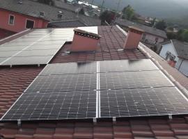Impianto fotovoltaico 4,1 kWp Villanuova sul Clisi (BS)