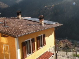 Impianto fotovoltaico 4,32 kWp Bovegno (BS)