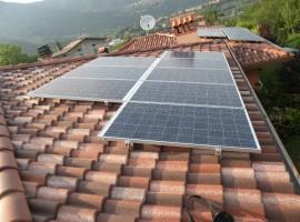 Impianto fotovoltaico 4,32 kWp Roè Volciano (BS)