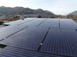 Impianto fotovoltaico 4,41 kWp Salò (BS) Vision vetro - vetro
