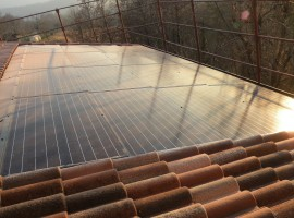 Impianto fotovoltaico 4,46 kWp Preseglie (BS) innovativo