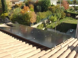 Impianto fotovoltaico 4,48 kWp Bedizzole (BS)