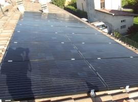 Impianto fotovoltaico 4,48 kWp Sabbio Chiese (BS)