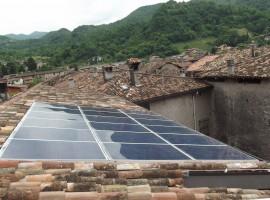 Impianto fotovoltaico 4,50 kWp Barghe (BS) ultima generazione